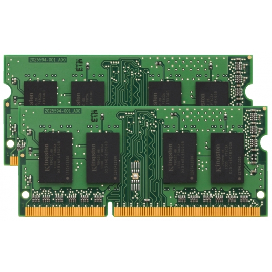 Kingston 16GB (2x 8GB) DDR3 RAM Memory Non ECC SODIMM 1333Mhz PC3-10600 1.5v