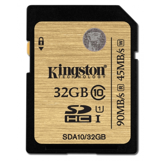 Kingston 32GB Ultimate SDHC (SD) Memory Card U1 45MB/s