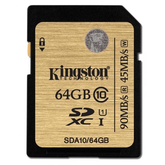 Kingston 64GB Ultimate SDXC (SD) Memory Card U1 45MB/s