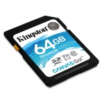 Kingston 64GB Canvas Go SDXC (SD) Memory Card U3 90MB/s V-Class 30