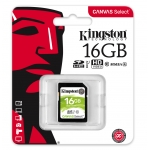 Kingston 16GB Canvas Select SD Card