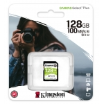 Kingston 128GB Canvas Select Plus SD Card - U3, V30, Up To 100MB/s