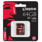 Kingston 64GB SDXC (SD) Memory Card U3 80MB/s