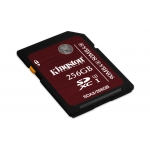 Kingston 256GB SDXC (SD) Memory Card U3 80MB/s 90MB/s