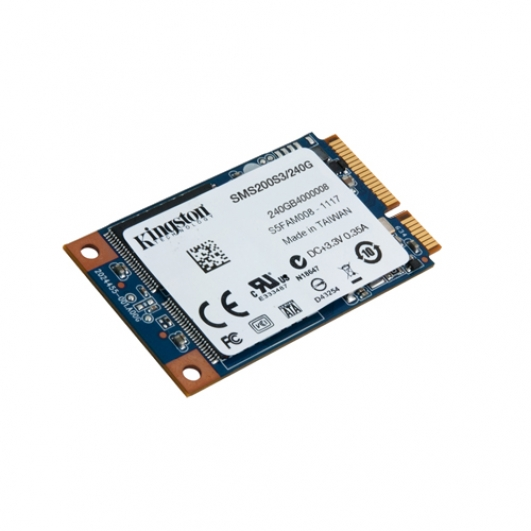 Kingston 240GB SSD Now mSATA 3 (III) Solid State Drive HDD