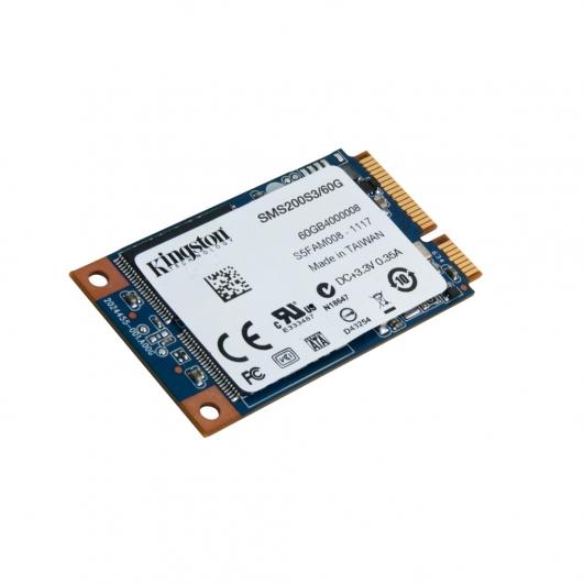 Kingston 60GB SSD Now mSATA 3 (III) Hard Drive HDD