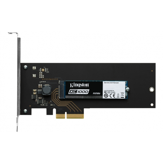 Kingston 240GB KC1000 NVMe M.2  2280 SATA 3.0 PCIe SSD 2700MB/s (With Adapters)