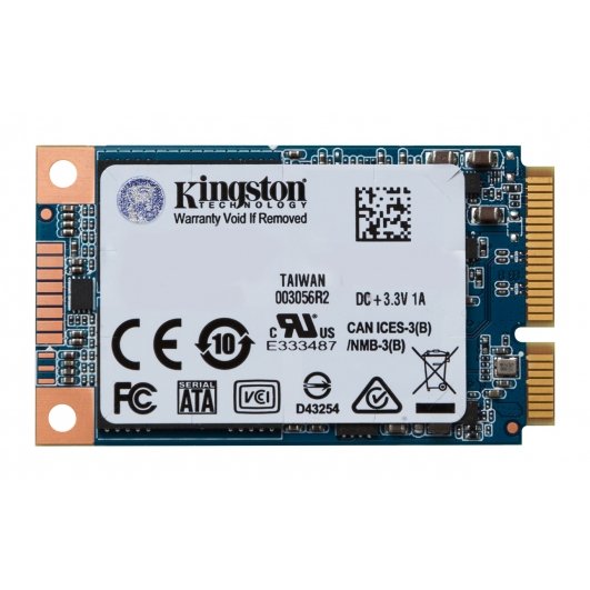 Kingston 120GB SSD Now mSATA 3 (III) Solid State Drive 6Gb/s Rev 3.0