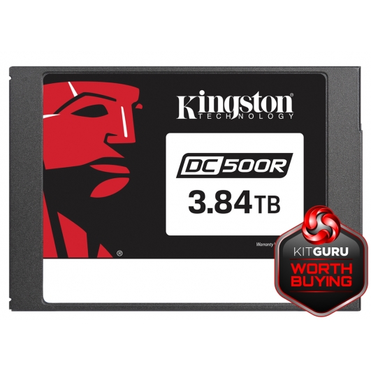"3.8TB (3800GB) Kingston DC500R 2.5"" SATA 3.0 (6Gb/s) SSD"