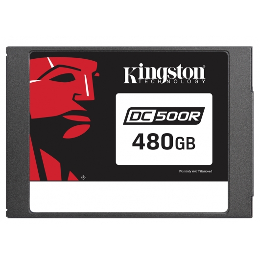 Kingston 480GB DC500R SSD 2.5 Inch 7mm, SATA 3.0 (6Gb/s), 555MB/s R, 500MB/s W