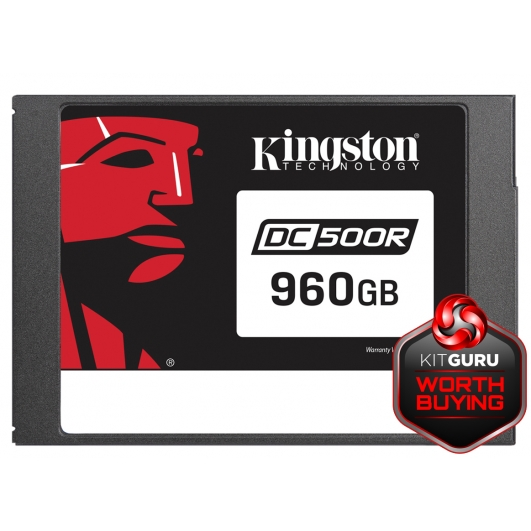 "960GB Kingston DC500R 2.5"" SATA 3.0 (6Gb/s) SSD"
