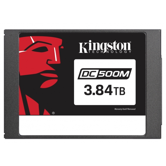 "3.84TB (3840GB) Kingston DC500R 2.5"" SATA 3.0 (6Gb/s) SSD"