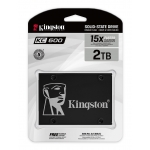 "2.0TB (2048GB) Kingston KC600 2.5"" SATA 3.0 (6Gb/s) SSD"