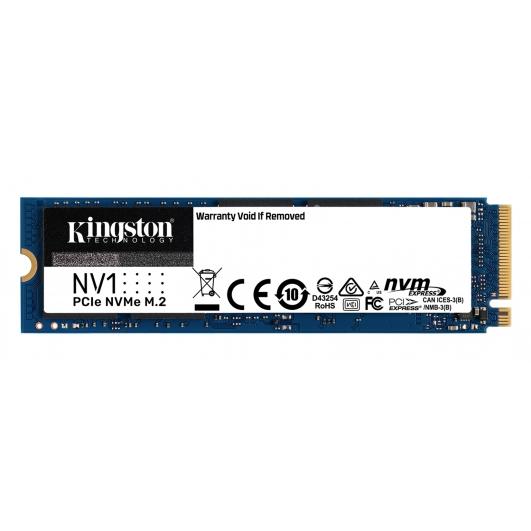 Kingston 1.0TB (1000GB) NV1 SSD M.2 (2280), NVMe, PCIe 3.0 (x4), 2100MB/s R, 1700MB/s W