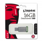 Kingston 16GB DataTraveler DT50 USB 3.1 Memory Stick Flash Drive