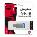 Kingston 64GB DataTraveler DT50 USB 3.1 Memory Stick Flash Drive