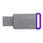 Kingston 8GB DataTraveler DT50 USB 3.1 Memory Stick Flash Drive
