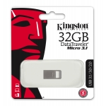 Kingston 32GB USB 3.1 DataTraveler Micro Memory Stick Flash Drive