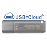 Kingston 64GB USB 3.0 DataLocker+ G3 Encrypted Memory Stick Flash Drive