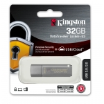 Kingston 32GB USB 3.0 DataLocker+ G3 Encrypted Memory Stick Flash Drive