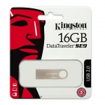 Kingston 16GB USB 2.0 DataTraveler SE9 Memory Stick Flash Drive