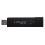 Ironkey 64GB USB 3.0 D300 Encrypted Flash Drive FIPS 140-2 Level 3