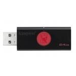 Kingston 64GB USB 3.1 DataTraveler DT106 Memory Stick Flash Drive