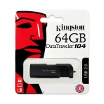 Kingston 64GB USB 2.0 DataTraveler DT104 Memory Stick Flash Drive