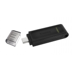 Kingston 128GB DataTraveler DT70 Type-C Flash Drive USB 3.2, Gen1, 80MB/s