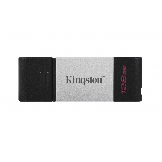 Kingston 128GB DataTraveler DT80 Type-C Flash Drive USB 3.2, Gen1, 200MB/s