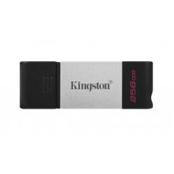 Kingston 256GB DataTraveler DT80 Type-C Flash Drive USB 3.2, Gen1, 200MB/s
