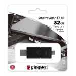 Kingston 32GB DataTraveler Duo Type-A/C Flash Drive USB 3.2, Gen1