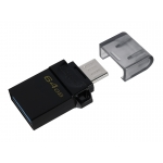 Kingston 64GB DataTraveler MicroDuo Flash Drive USB 3.2, Gen1, 80MB/s