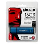 Kingston 16GB DataTraveler Encrypted Flash Drive USB 3.0