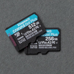 Kingston Launch CANVAS GO! PLUS Micro SD Cards